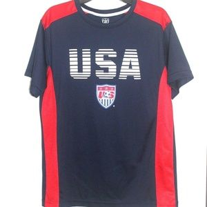 Team USA National Soccer Jersey/Shirt Size L